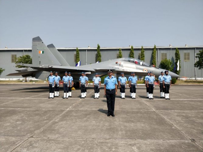 The first overhauled Su-30 MKI ac was handed over to the operational squadron of the Indian Air Force by the 11 Base Repair Depot at Ojhar in Nashik district on Friday.