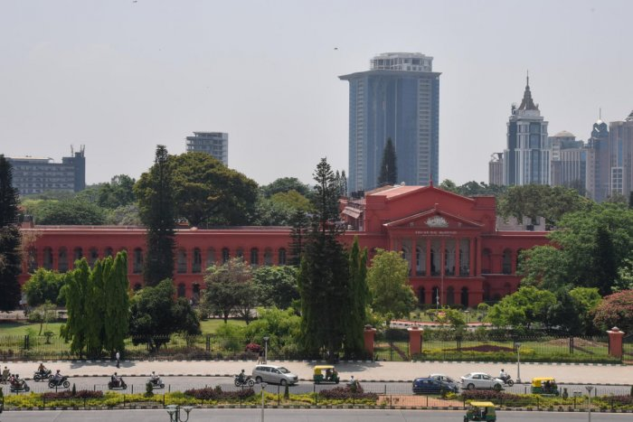 Justice A S Bopanna and Justice Mohammad Nawaz were hearing four petitions filed by various deemed universities stating that the regulation committee has no jurisdiction over them. (DH File Photo)