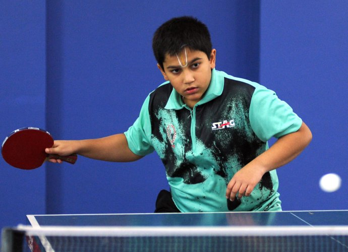 PROMISING: Hrishikesh Shetluur won the national-ranking cadet gold earlier this month. DH PHOTO/SRIKANTA SHARMA R