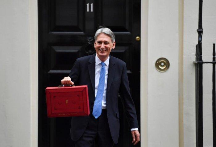 Philip Hammond. (AFP File Photo)