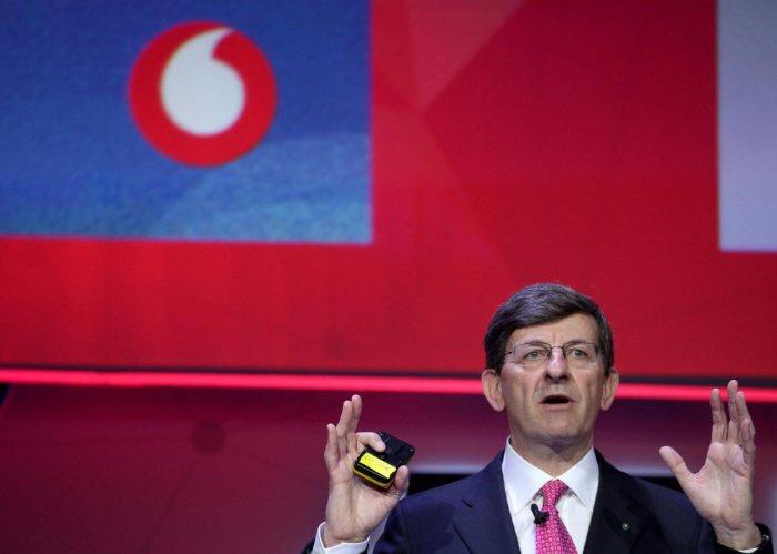 Vodafone Chief Executive Vittorio Colao. REUTERS