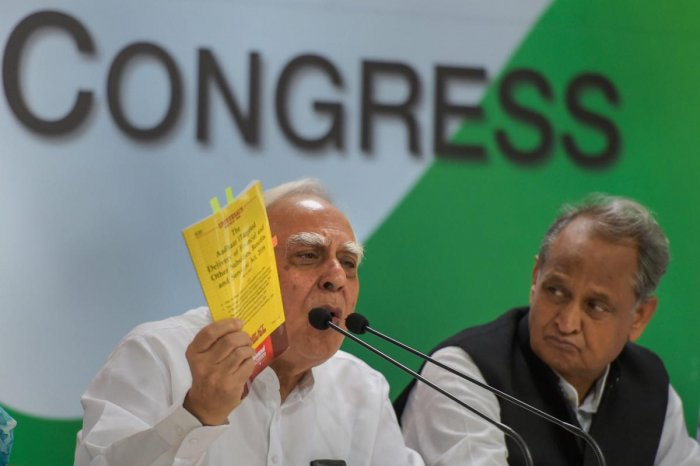 Targeting the BJP on Ayodhya issue, senior Congress MP Kapil Sibal on Tuesday questioned the demand for bringing out an ordinance to build Ram Temple, saying the saffron party is raising it as elections are approaching. PTI file photo