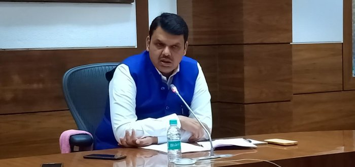 """Terming the last week's accident as unfortunate, Fadnavis said, """"Initial probe into it has suggested that the accident took place after the boat operator took a shortcut en route to the memorial site."""" (DH Photo)"""