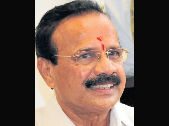 Union Minister D V Sadananda Gowda