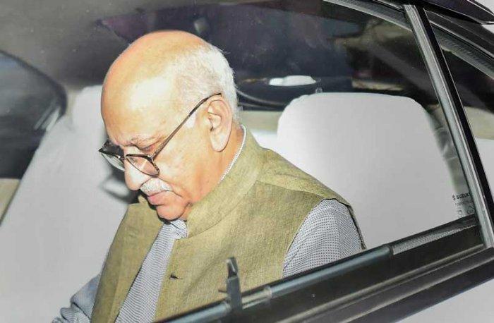 M J Akbar (PTI file photo)