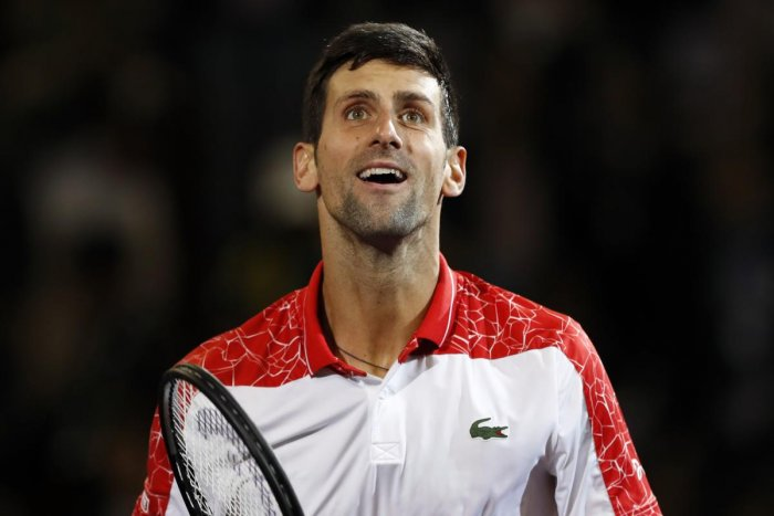 Novak Djokovic. Reuters