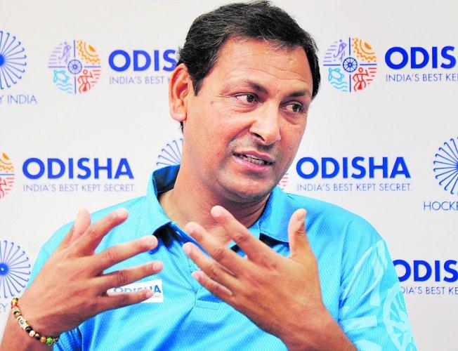 Indian men's hockey coach Harendra Singh. DH File Photo