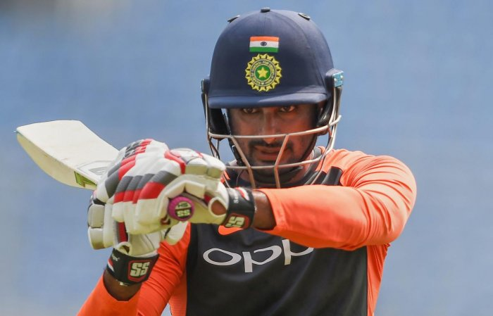 IN FINE TOUCH: Ambati Rayudu will be eyeing to extend his good run at the number 4 spot in the fifth and final game on Thursday. PTI