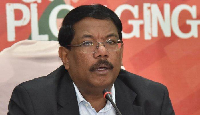 BBMP Commissioner N Manjunath Prasad