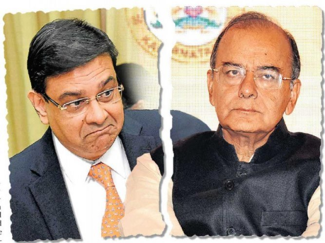 RBI Governor Urjit Patel and Finance Minister Arun Jaitley