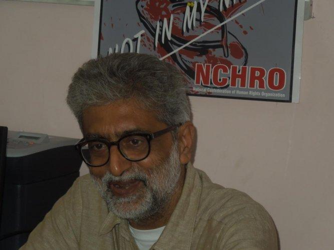 Gautam Navlakha.