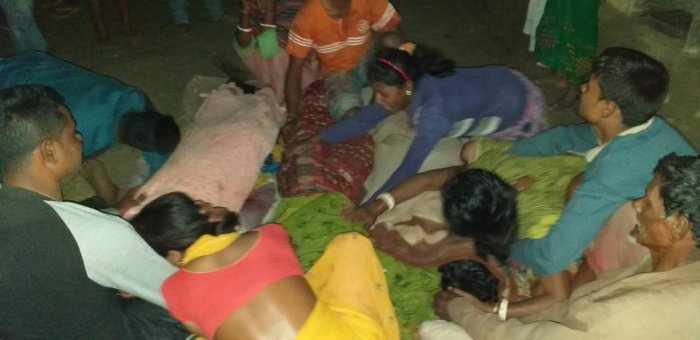 Suspected Ulfa (Independent) militants shot dead five people including three from a family in eastern Assam's Tinsukia district on Thursday evening