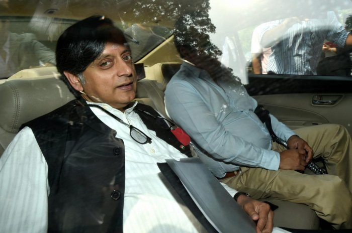 Congress leader Shashi Tharoor. PTI File Photo