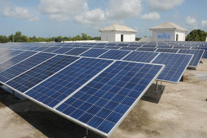 One of the major initiative under BAMBOOS is to have apartment complexes install rooftop solar power plants, which can help in bringing down the burden of paying hefty electricity bills. (DH File Photo)