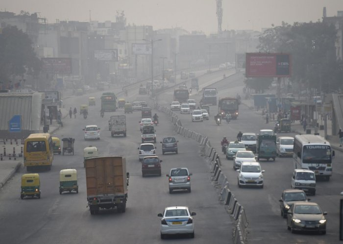 The overall Air Quality Index (AQI) of Delhi was recorded at 346, which falls in the 'very poor' category, according to data of the Central Pollution Control Board (CPCB). (PTI Photo)