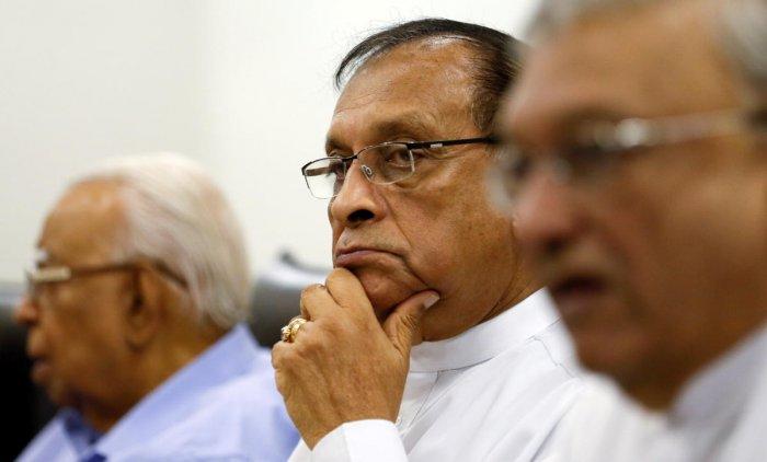 Karu Jayasuriya, Speaker of the Parliament of Sri Lanka. (REUTERS File Photo)