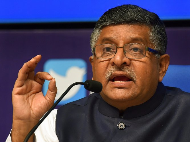 """Law Minister Ravi Shankar Prasad accused former finance minister P Chidambaram of """"mocking"""" the """"Ram temple initiative"""" and Sardar Vallabhbhai Patel's statue, terming his remarks as """"highly irresponsible and very provocative"""". PTI file photo"""