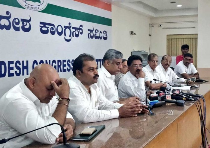 The Congress on Friday released an audio clip where mining baron Gali Janardhana Reddy is heard offering money to the Congress' MLA from Raichur Rural.