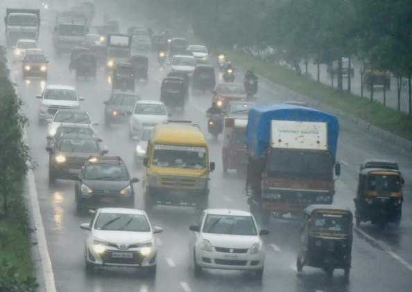 Due to the heavy rain, 32 Kolhapur type (KT) weirs have started overflowing affecting traffic. PTI file photo