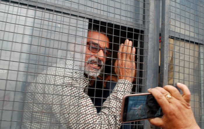 The charge sheet has been filed against Sanji Ram and his juvenile nephew, his son Vishal, special police officers Deepak Khajuria and Surender Verma and friend Parvesh Kumar alias Mannu. (Reuters File Photo)