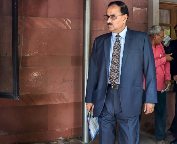 Alok Verma and Asthana reached the Central Vigilance Commission around 1 pm and stayed for about an hour, they said.