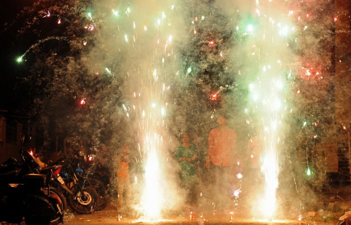 Police say they are doing their bit to implement the Supreme Court order that fireworks be burst only between 8 and 10 pm.