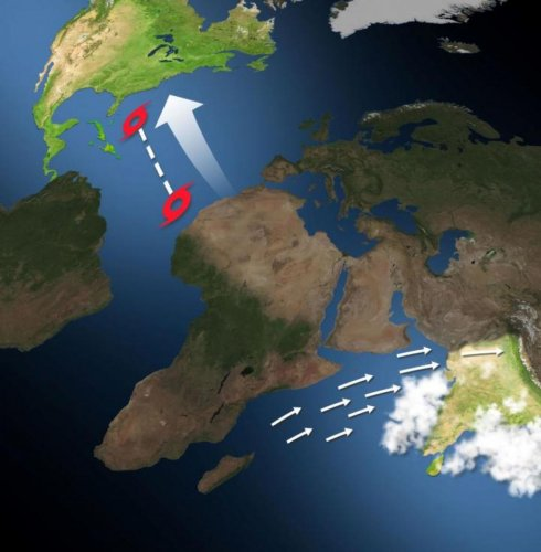 A new study finds that in years where India experiences stronger summer rain storms, Atlantic hurricanes move further westward towards the land. PHOTO/Pacific Northwest National Laboratory