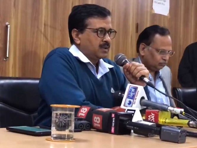 """""""Petrol pump owners have told us privately that this is a BJP sponsored strike, actively supported by oil companies. In fact, BJP has thrust it upon petrol pump owners. People will give BJP a befitting reply in elections for continuously inconveniencing people through their dirty politics,"""" Kejriwal said in a tweet."""