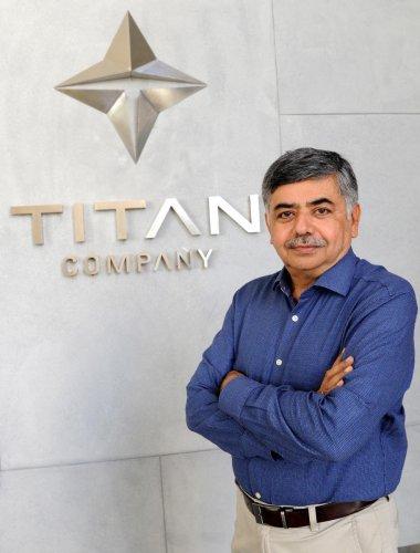 Bhaskar Bhat, MD, Titan. DH Photo