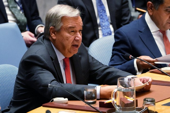 Secretary-General of the United Nations Antonio Guterres. (Reuters file photo)