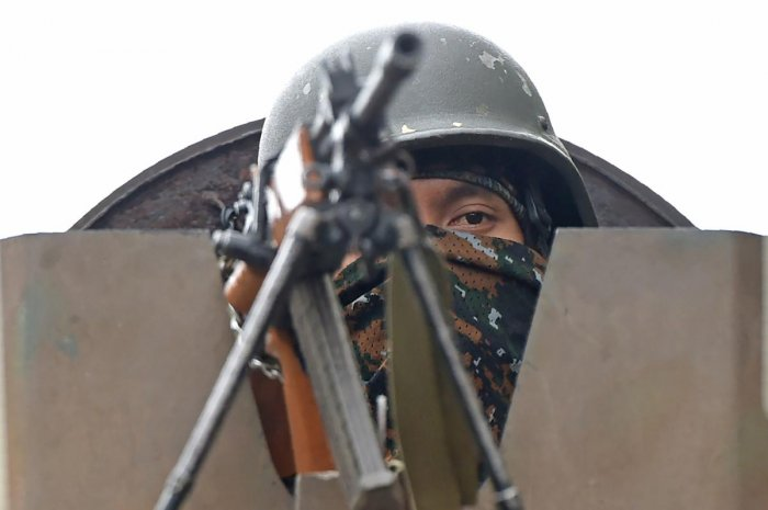 The sources said the Pakistan Army has been informed through established communication channels to take the bodies of its nationals, who were wearing combat uniform. AFP file photo.