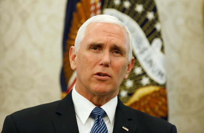 US Vice President Mike Pence. Reuters file photo