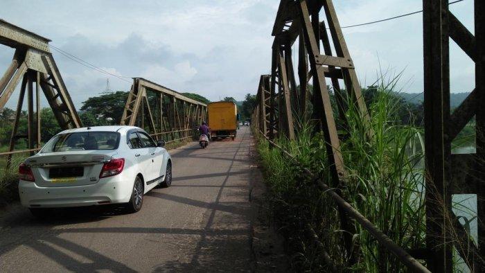 A view of Gurupura bridge.