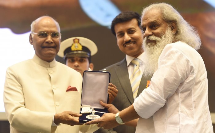 "Iconic singer K J Yesudas, who received his award on Thursday, was in for severe criticism for ""going against"" the solidarity displayed by the award winners."