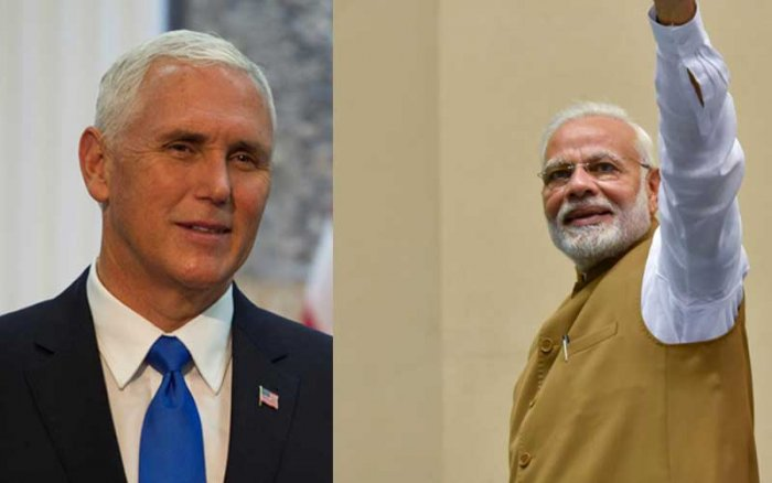 Modi and Pence are scheduled to meet during the ASEAN and East Asia Summit in Singapore next week.