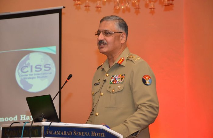 Pakistan army's Chairman Joint Chiefs of Staff Committee General Zubair Mahmood Hayat.