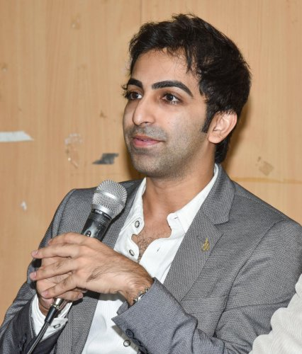 different strokes Still an active player, Pankaj Advani has also taken up the role of the joint-secretary of the Karnataka State Billiards Association. DH photo/ s k dinesh