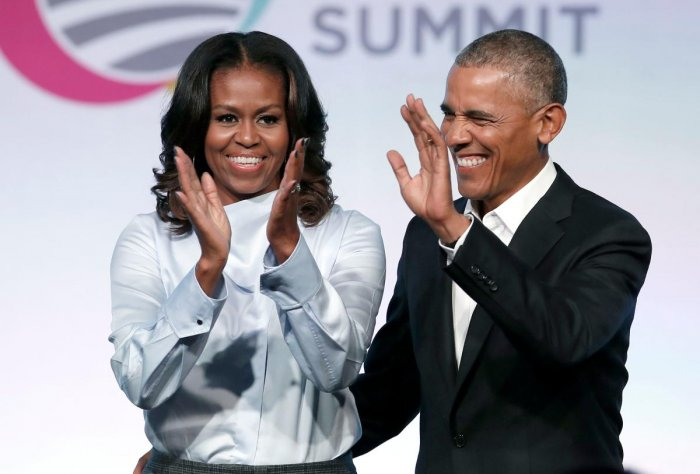 Obama, 54, said she and Barack Obama underwent fertilisation treatments to conceive daughters Sasha and Malia, now 17 and 20. (AFP File Photo)