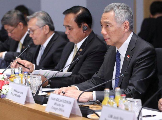 Lee Hsien Loong. Reuters file photo.