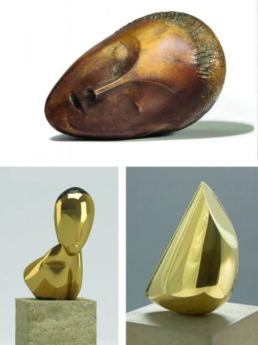 Minimal and Expressionist sculptures by Brancusi