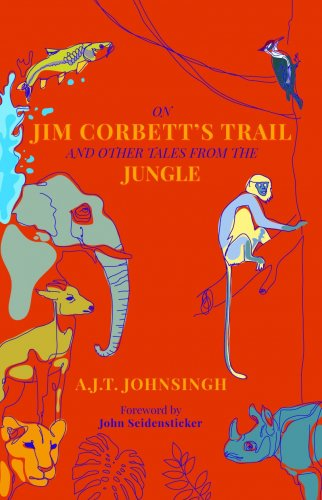 The book cover of  'Jim Corbett's Trail and Other Tales from the Jungle'. Credit: Amazon.in