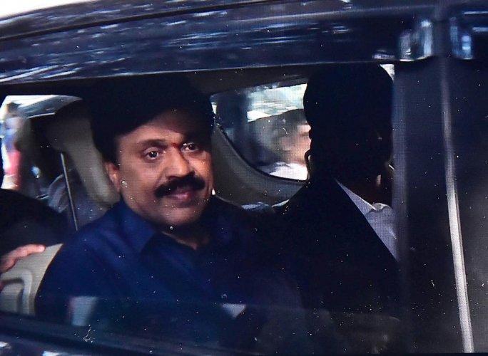 Former Karnataka minister and mining baron G Janardhana Reddy. PTI photo