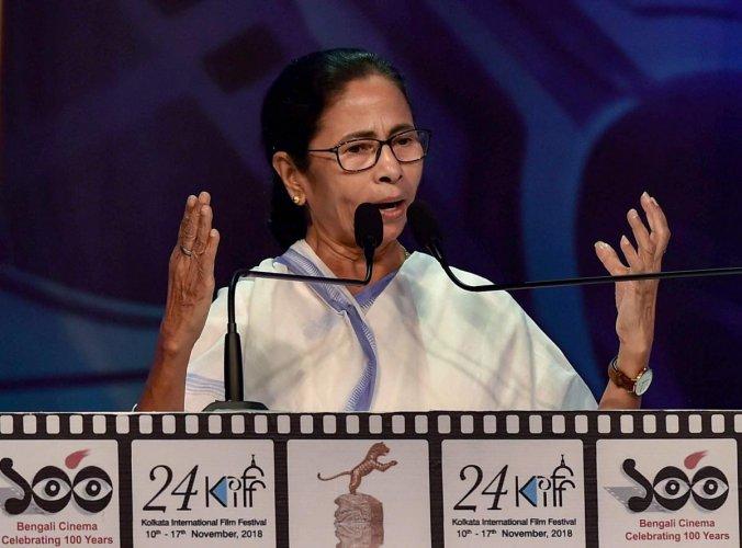 West Bengal Chief Minister Mamata Banerjee in Kolkata on Saturday. PTI/FILE