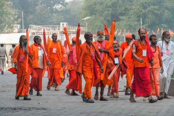 The Vishwa Hindu Parishad (VHP) will be holding simultaneous 'dharma sabhas' (religious meet) of leading seers at Ayodhya, Bengaluru and Nagpur later this month