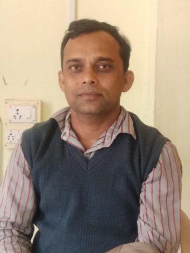 Ajeet Ray. DH PHOTO
