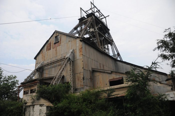 The defunct gold mines at Kolar Gold Fields. The Centre is willing to hand over Bharat Gold Mines Limited to the state, provided it agrees to clear Rs 1,600 crore, which BGML owes to the Mines Ministry. DH File Photo