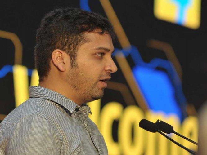 Flipkart CEO Binny Bansal. AFP photo