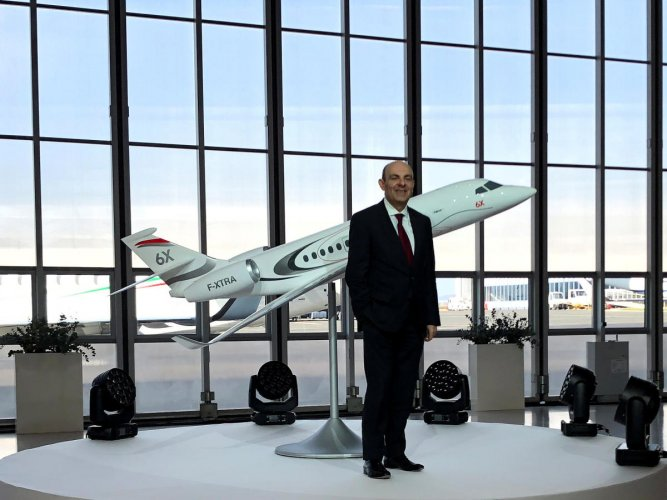 Dassault Aviation Chief Executive Officer Eric Trappier. (Reuters file photo)