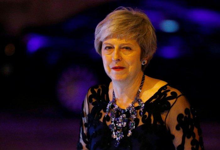 British Prime Minister Theresa May. Reuters file photo