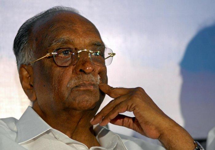 Karnataka Legislative Council Chairman D H Shankara Murthy. -Photo/ Savitha B RDH Shankaramurthy